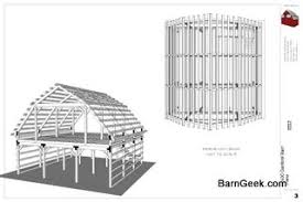 30x30 gambrel barn plans