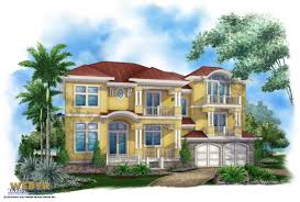 Tropical Home Decor Tropical House Plans Coastal Waterfront U0026 Island Styles With Photos