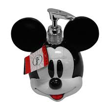 Mickey Bathroom Accessories by Mickey Mouse Decorative Bath Collection Lotion Soap Pump
