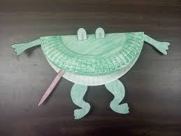 paper plate frog craft laura williams
