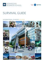 survival guide 2017 international students by bi norwegian