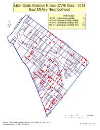 Philadelphia Neighborhood Map Phila Trash Maps Environmental Challenges