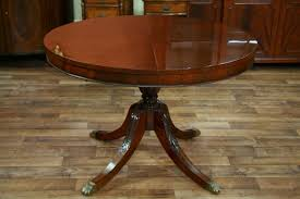 Dining Tables  Antique Pedestal Dining Tables Dining Table Styles - Antique round kitchen table