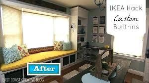 ikea hack bench bookshelf bay window seat ikea large size of digital camera window seat with