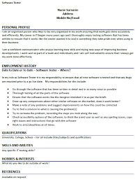 software tester cover letter software tester cover letter top 7