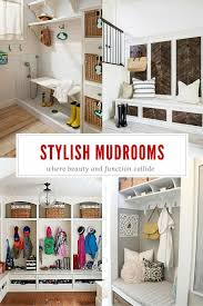 Functional Entryway Ideas Stylish And Functional Mudroom Ideas