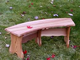 Curved Outdoor Benches Custom Curved Outdoor Garden Bench Best Adirondack Chair Company