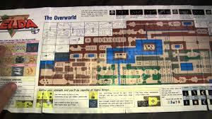 legend of zelda map with cheats cgrundertow legend of zelda overworld map video game accessory