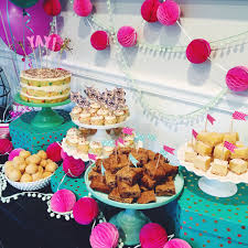 a pink and mint baby shower domestikatedlife