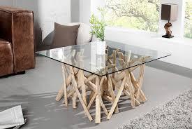 Table Haute En Bois Massif by Table Basse Design Et Meubles De Salon Royale Deco