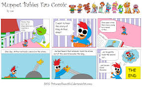 muppet babies fan comic princessbeautiful deviantart