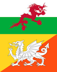 if wales and bhutan exchanged dragons vexillology