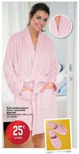 carrefour robe de chambre carrefour promotion boîte cadeau peignoir dame pantoufles