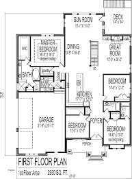 5 bedroom floor plans 1 story floor plans for 5 bedroom house contemporary house floor plans 5