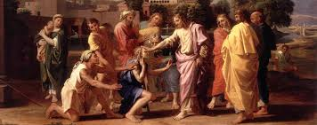 Christ Healing The Blind Images Of Christ Heals A Blind Sc