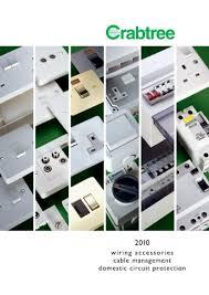 crabtree product catalogue wiring accessory u0026