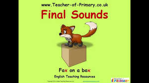 final sounds teaching resource youtube
