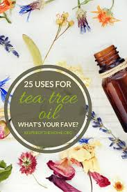 Tea Tree Oil Bathroom Cleaner 25 Uses For Tea Tree Oil Keeper Of The Home