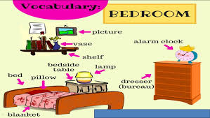 bedroom clipart vocabulary pencil and in color bedroom clipart