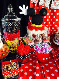 Candy Party Table Decorations Best 25 Mickey Candy Bar Ideas On Pinterest Mickey Mouse Theme