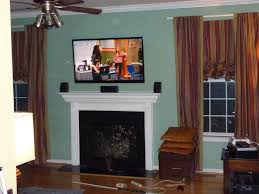 wall mount tv over fireplace gen4congress com