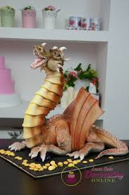 how to make a dragon cake with fire blowing effects youtube
