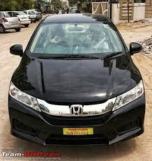 honda car black 2014 honda city sv cvt automatic in black team bhp