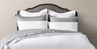 Luxury White Bed Linen - luxury bed linen sheets u0026 valances feather u0026 black