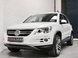 volkswagen tiguan white volkswagen tiguan 2 0 summit tdi 4motion 5dr automatic for sale in