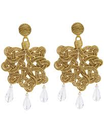 Gold And Silver Bathroom Accessories Earrings Jewellery Women Liberty London