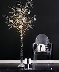prelit snowy paper christmas tree from john lewis fresh design blog