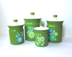 vintage metal kitchen canisters 116 best retro cannisters images on vintage canisters