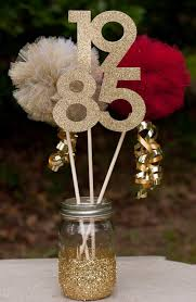 class reunion high school reunion centerpiece table decoration you