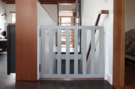 Baby Gate For Bottom Of Stairs Banisters Diy Baby Gate Chezerbey