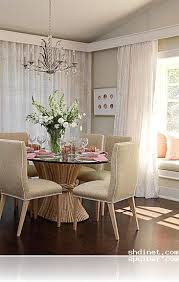 Window Seat In Dining Room - window curtains for dining room decorating small u0026 simple home