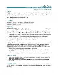 Study Abroad Resume Sample by Marketing Resume Examples Digital Marketing Resume Samples Sample