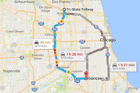 Chicago Toll Roads Map by Widening The Tri State Will Be Another Futile Attempt To Build Our
