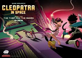cleopatra in space comic cons