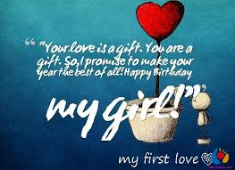 birthday wish quotes to girlfriend sweet birthday wishes for