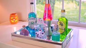 diy halloween potion bottles halloween room decor youtube