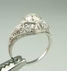 vintage estate engagement rings wedding promise diamond