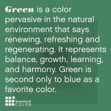 What Is The Meaning Of Interior The Meaning And Symbolism Of The Color Green Green Is The Color