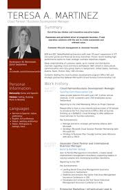 Business Management Resume Sample by Business Development Resume Samples Visualcv Resume Samples Database