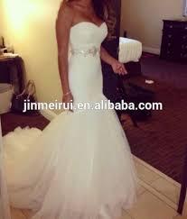 high quality custom made sweetheart mermaid cheap wedding dress