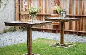 Cocktail Table Rentals Thank You For Contacting Us Cedar And Pine Events