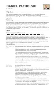 project management experience resume quality manager resume samples visualcv resume samples database
