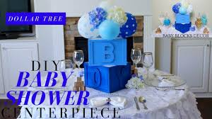 dollar tree diy baby shower decor diy boy baby shower centerpiece