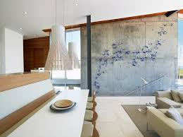 eclectic metal wall art dining room modern with pendant lights