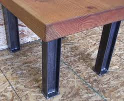rustic dining table legs reclaimed wood dining table metal legs luisreguero com