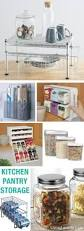 Kitchen Food Storage Ideas by 219 Best Kitchen Organization Images On Pinterest Kitchen